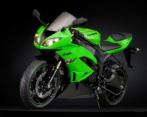Ninja Motorrad Mobile by Kawasaki Bike Wallpaper 2