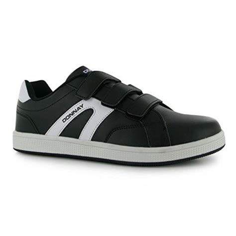 velcro athletic shoes for donnay mens west velcro padded tennis shoes sports