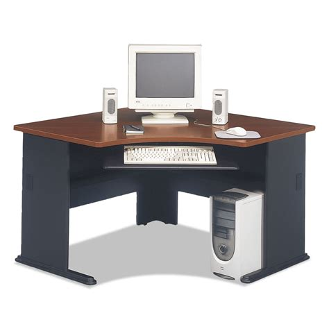 Bush Series A Corner Desk Bbf Series A Corner Office Desk By Bush Furniture Bshwc90466a Ebay