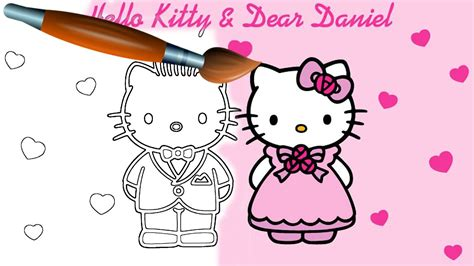 hello kitty and dear daniel coloring pages hello kitty dear daniel coloring pages fun coloring pages