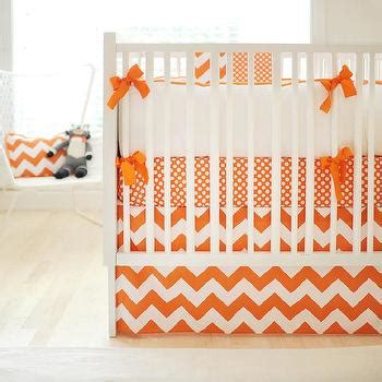 Turquoise Blue And Orange Crib Bedding Contemporary Crib Bedding Orange