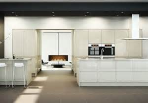 Contemporary Kitchen Units - handleless kitchen doors contemporary kitchens from doorbox