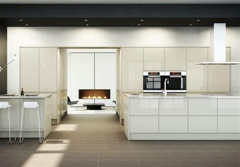 Handleless Kitchen Doors   Contemporary Kitchens from Doorbox