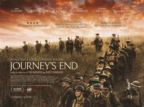 Play To The End journey s end poster teaser trailer