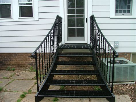 Front Door Railings Finelli Ironworks Front Door Railing Front Door Railings