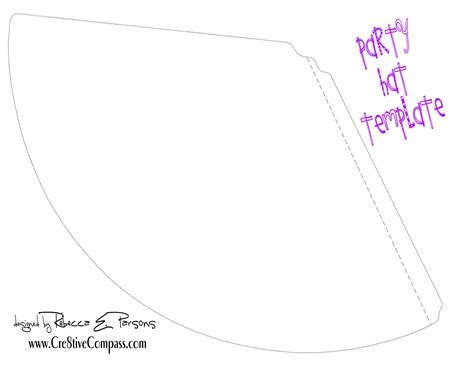 hat template printable printable hat new calendar template site