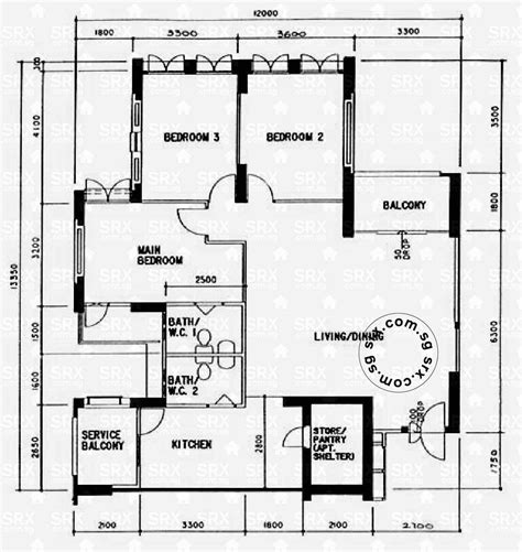 singapore floor plan floor plans for upper serangoon road hdb details srx