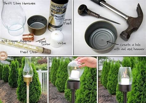 diy garden chandelier the owner builder network