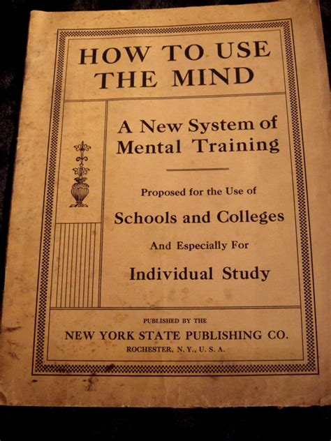 mind 2 manuscripts how to analyze how to secretly manipulate books how to use the mind c 1913 sku 1090 for sale antiques
