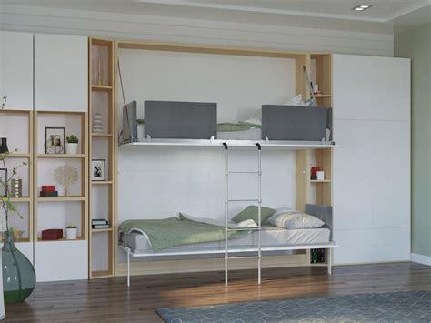 Murphy Style Bunk Beds Wall Murphy Bunk Bed Pensiero