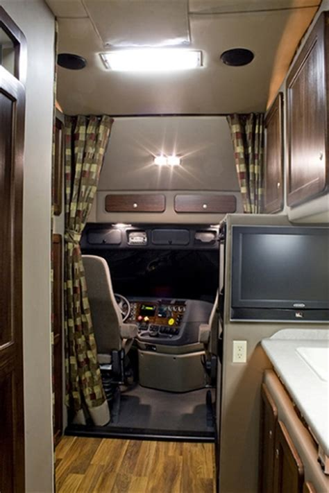 Tractor Trailer Interior by Integrated Tractor Trailer Sleeper Cab Bolt Custom Trucks