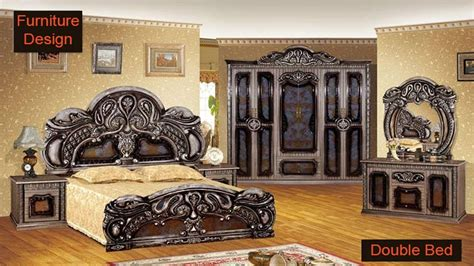 wooden double bed design  home  india  pakistan latest double bed design  youtube