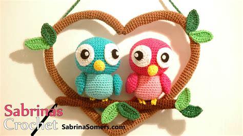 amigurumi love pattern crochet love birds love birds haken amigurumi youtube
