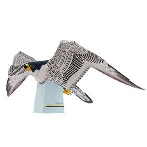 animal papercraft falcon papercraft paradise papercrafts paper models card models