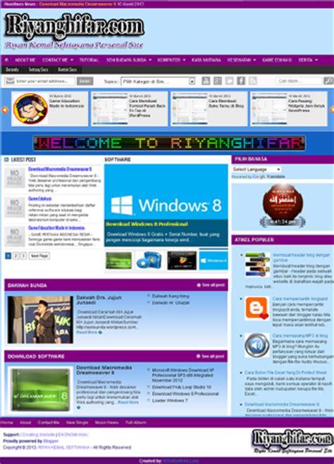 contoh desain web distro contoh desain web blog personal menoreh net media