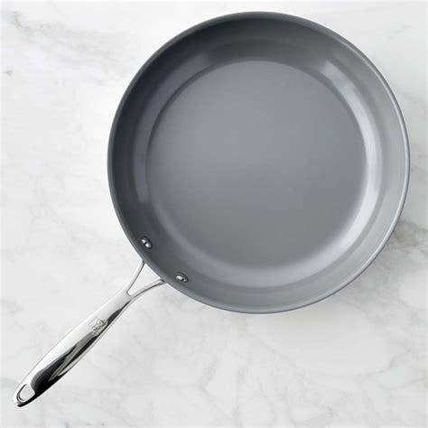 Teflon Ceramic zwilling titanium ceramic nonstick fry pan williams sonoma