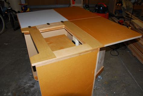 woodworking project sewing table daiku bob s weblog