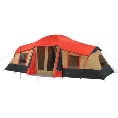 10 room tent walmart ozark trail 10 person 3 room vacation tent walmart