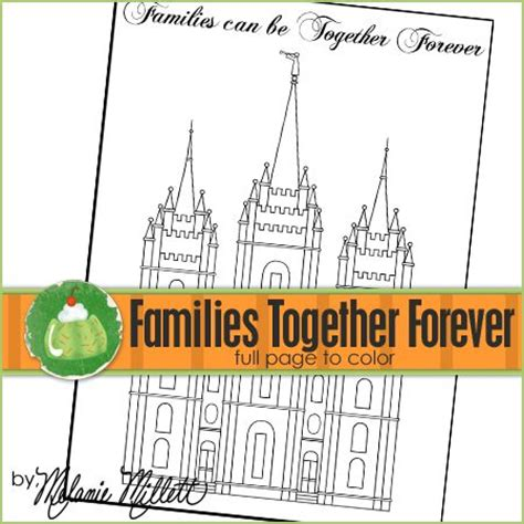 lds coloring pages families can be together forever together forever coloring pages and printable coloring