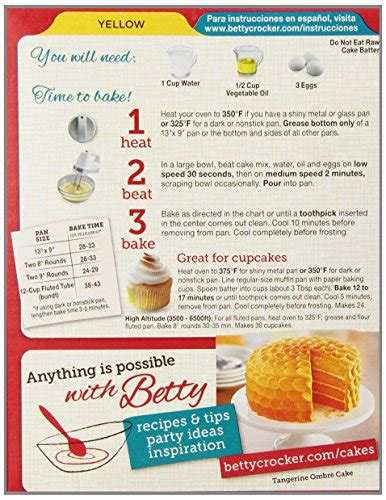16 Ingredients And Directions Of Orange White Chocolate Cheesecake Receipt by Betty Crocker Chocolate Cake Mix Directions