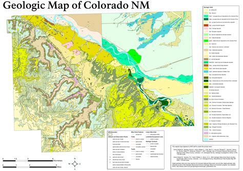 geologic map colorado colorado nm maps npmaps just free maps period