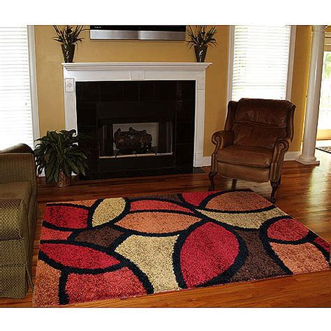 walmart rugs for living room orian shag bloompetal rug walmart