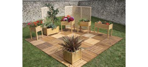 terrasse de jardin pas cher terrasse jardin bois pas cher