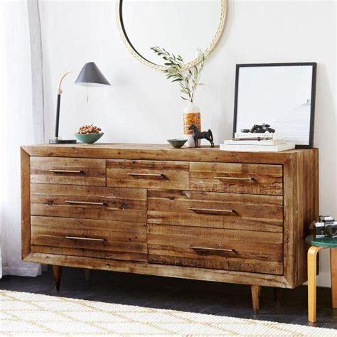 alexa reclaimed wood 5 drawer dresser alexa 7 drawer brown dresser
