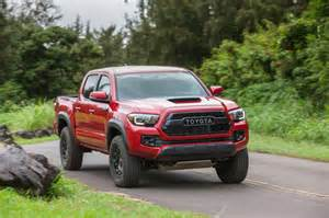 Toyota Tacoms 2017 Toyota Tacoma Trd Pro Drive Review Automobile