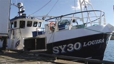 fishing boat accident scotland lifejackets worn in tragic louisa accident in which three
