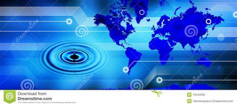 Online 3d Design Program global world map technology water banner stock photo
