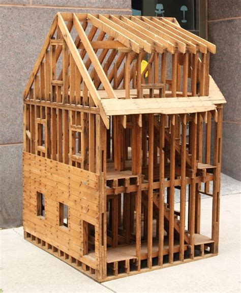 A Frame House Kits For Sale by Great Balloon Framing Scale Model Of A Home At 1stdibs