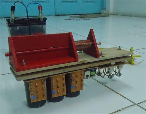 dioda baut catatan bowo suranto merancang dan membuat senjata elektromagnet coil gun