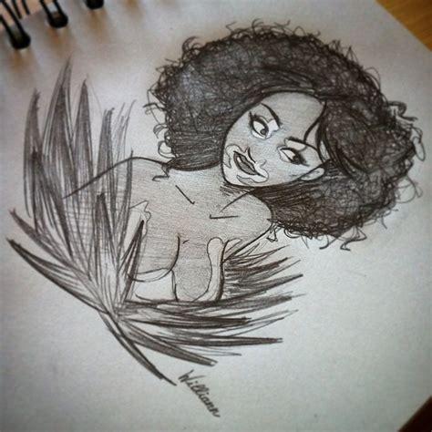 winnieharlow sketch vitiligo williann dessin draw