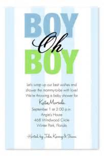 oh boy baby shower invitations quotes