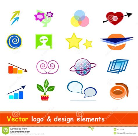 free logo design elements vector logo design elements vector royalty free stock photos