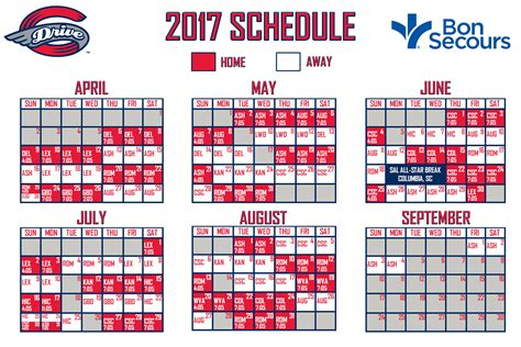 boston sox home schedule 2017