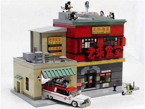 lego ghostbusters house 732 best five star lego moc s from around the web upstatebrick com images on pinterest