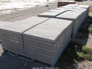 24x24 patio pavers west auctions auction complete liquidation of tristar