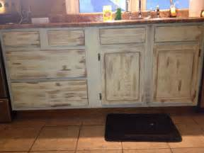 Kitchen Cabinets Distressed by Distressed Kitchen Cabinets Diy Pinterest Distressed
