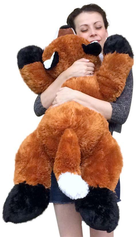 stuffed fox 36 inches soft big plush superior