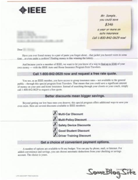 Car Insurance Letter Of Experience 2008 March Some Site