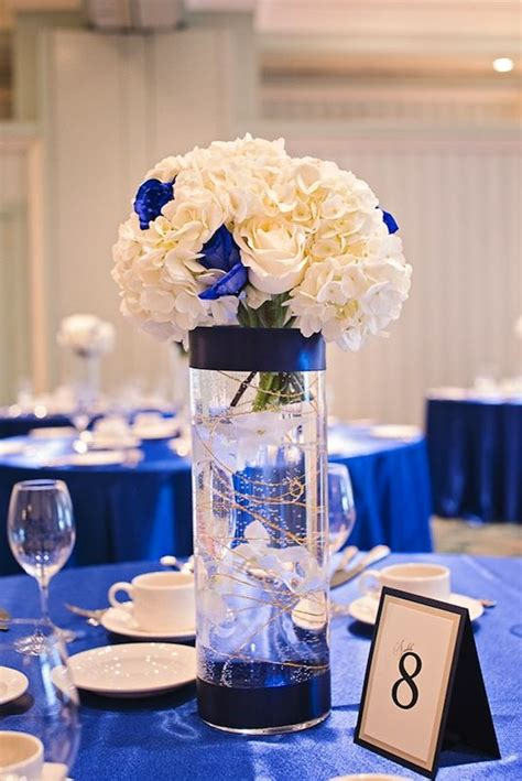 Decorating Ideas For Table Centrepiece Blue Centerpieces For Wedding Tables Design Decor