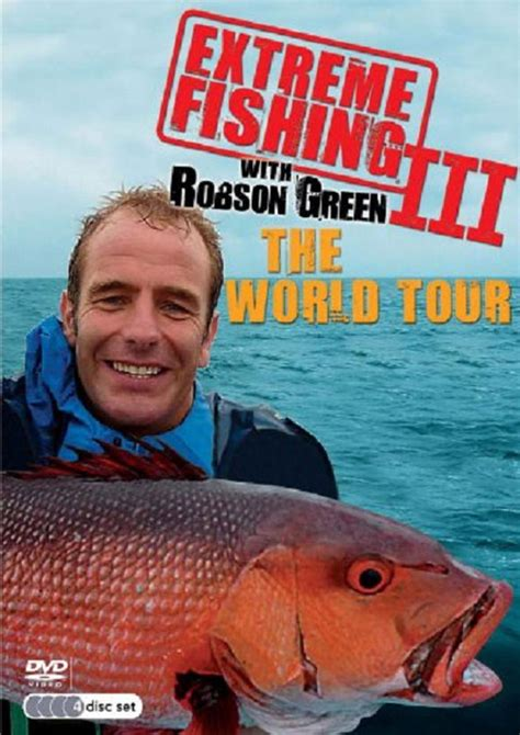 robson green fishing challenge dvd fishing with robson green