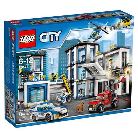 amazon lego amazon com lego city police station 60141 cool toy for