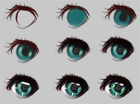 paint tool sai realistic eye tutorial step by step by ryky on deviantart