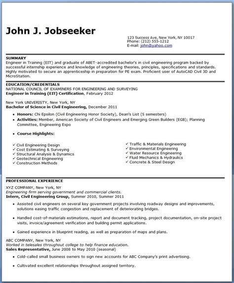 exles of engineering resumes resume title exles exles of resume titles the 25 best
