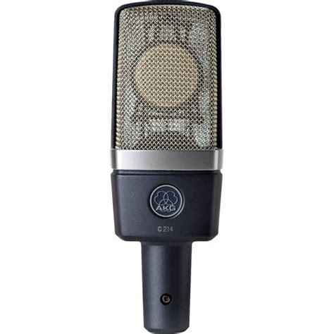 condenser microphone range akg c214 large diaphragm condenser microphone 3185x00010 b h
