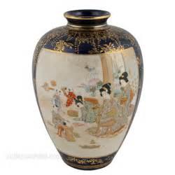 Japanese Vases Satsuma Antiques Atlas Japanese Satsuma Pottery Vase