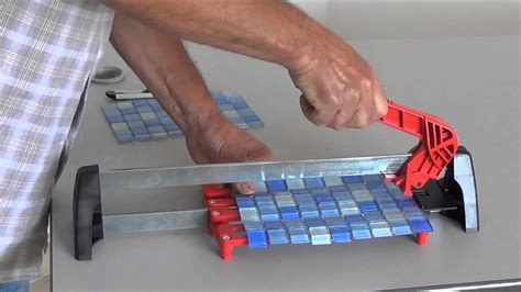 special mosaic and glass mosaic manual tile cutter youtube